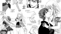 KyoXTohru by werewolf-Moon on DeviantArt Anime Couples Manga, Cute Anime Couples, Manga Anime, Anime Girls, Fruits Basket Cosplay, Fruits Basket Manga, Cute Fruit, Old Anime, Anime Fairy