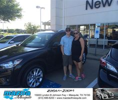 https://flic.kr/p/GrFSvx | Happy Anniversary to Clayton And Catherine on your #Mazda #CX-5 from Greg Powell at Mazda of Mesquite! | deliverymaxx.com/DealerReviews.aspx?DealerCode=B979