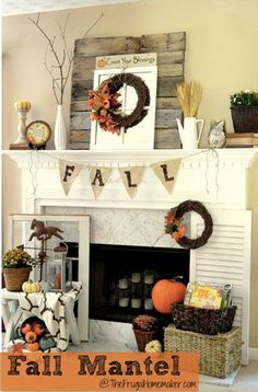 Favorite Fall Mantles
