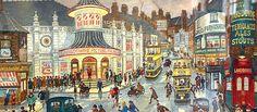 George Cunningham London Road Sheffield Sheffield United, Art For Art Sake, Best Memories, Artist Painting, Love Art, Old Houses, Old And New, Pinterest Marketing, History