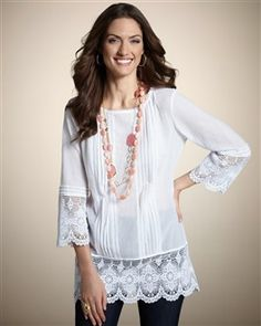 white peasant blouse--maybe I really was a hippie at heart