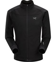 Trino Jacket Men's Performance oriented jacket with a combination of WINDSTOPPER® and stretchy Altasaris™ fabric for increased breathability...