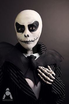 31 Days Of Halloween 2013 October 1 Jack Skellington  Makeup/Styling/Photography: Me
