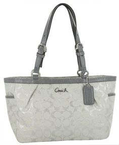 COACH 17724 Womens Lurex Gallery Handbag Purse « Clothing Impulse