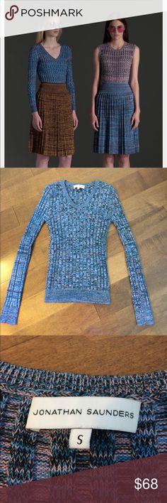 Jonathan Saunders Sweater Scottish Fashion Design Jonathan Saunders Runway Sweater. Size S    Excellent Condition Jonathan Saunders Sweaters