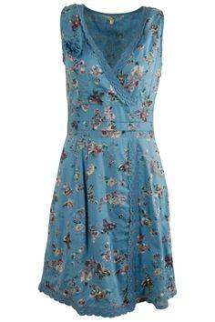 Uttam Fashion Online Fiona Butterfly Print Dress - Womens Knee Length Dresses - Birdsnest Clothing Online