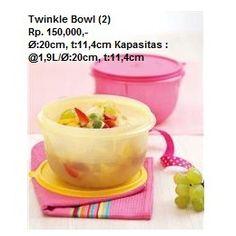 Nama Produk: Twinkle Bowl (2) | Tupperware Bogor | Katalog Tupperware Indonesia Harga: Rp. 150,000,- Ukuran: Ø:20cm, t:11,4cm,  Kapasitas: @1,9L Stars: 30 STARS  Deskripsi: Tupperware Bogor | Katalog Tupperware Indonesia Reguler