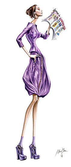 L A T I N for G L O R Y : Fashion Illustration: Aruturo Elena