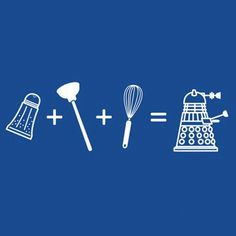 Yup, that's how #Daleks are made :) #DoctorWho