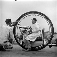 Vintage Monowheel. #ExperimentsInMotion