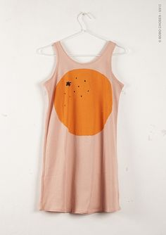 Sleeveless Dress - Orange    Organic jersey cotton    100% cotton    Machine wash up to 30ºC  Do not bleach  No tumble dry  No ironing  Do not dry clean        BOBO CHOSES presents its new SS13 collection. Simple and comfortable shapes; friendly designs and carefully selected colours. Additionally, in this new collecti...