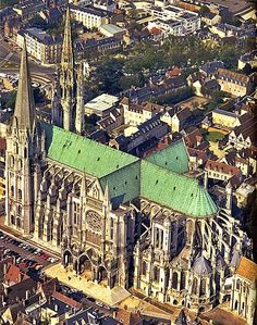 House of Worship, Chartres, France.