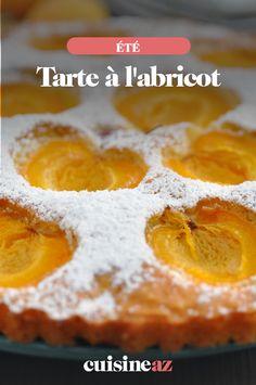 La tarte à l'abricot est un incontournable des pâtisseries de l'été.  #recette#cuisine#tarte #abricot#patisserie #fruit #ete Cheesecakes, Fondant, Pie, Sweets, Fruit, Food, Apricot Tart, Vegetable Tian, Shortbread