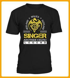 SINGER Another Celtic Legend - Shirts für singles (*Partner-Link)