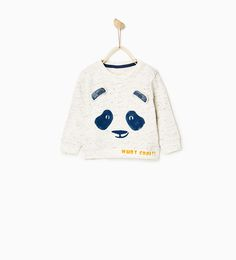 PANDA BEAR SWEATSHIRT-SWEATSHIRTS-BABY BOY | 3 months-4 years-KIDS | ZARA United Kingdom