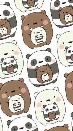 oodon - Gudetama x We Bare Bears Wallpaper Cute Panda Wallpaper, Cartoon Wallpaper Iphone, Disney Phone Wallpaper, Bear Wallpaper, Kawaii Wallpaper, Cute Wallpaper Backgrounds, Disney Phone Backgrounds, We Bare Bears Wallpapers, Panda Wallpapers
