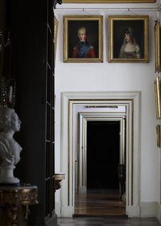 Rosenborg Castle. Portraits of King Frederik IV og Queen Marie. Copyright: Rosenborg Castle / Rosenborg Slot