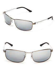 4df2dac166 Ray-Ban Polarized Metal Aviator Sunglasses