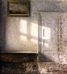 Interior, Strandgade, Vilhelm Hammershøi