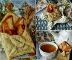 ...a quiet life...: a letter from home... pastry & fruit filled envelopes!