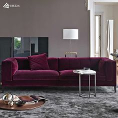 Alluring like fine wine. This magnificent sofa can add a tad of elegance you were looking out for. Italian Sofa, Burgundy Couch Living Room, Sofa Design, Furniture, Burgundy Couch, Living Room Sofa, Couches Living Room, Living Room Grey, Burgundy Sofa Living Room