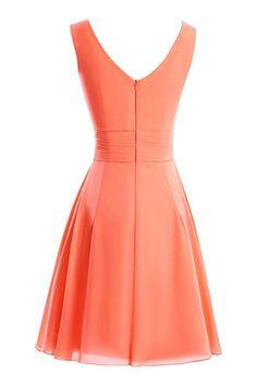 ModernBride Women Elegant Summer Chiffon Mother's Dresses 2015 Size 2 US Navy Blue
