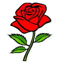 Free Valentines Day Coloring Pages. Color in this picture of a Rose and others with our library of online coloring pages. Save them, send them; they& great for all ages. Rose Coloring Pages, Online Coloring Pages, Coloring Books, Colouring, Rose Clipart, Flower Clipart, Flower Art Images, Flower Garden Drawing, Queen Drawing