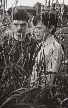 Ian Curtis and Bernard Sumner.