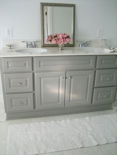 Give Your Bathroom a BudgetFreindly Makeover Bathroom cabinets
