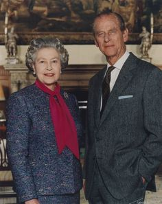 Her Majesty The Queen and His Royal Highness The Duke of Edinburgh photographed by Terry O'Neill, 30 January National Portrait… Hm The Queen, Royal Queen, Her Majesty The Queen, English Royal Family, British Royal Families, Elizabeth Philip, Queen Elizabeth Ii, Royal Family Portrait, Queen And Prince Phillip