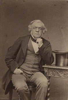 William Makepeace Thackeray, c. 1863