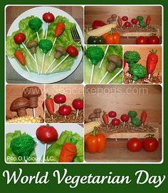 Veggie Cake Pops | LUUUX