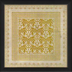 Tile 10 Framed Graphic Art