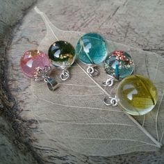New jewelry from nerves of a tree leaf in my shop