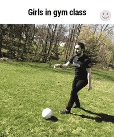 Some Girls During Gym Class