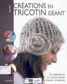 Création au tricotin géant - Les tricots de Loulou - Picasa Web Albums