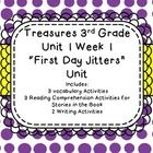 This is everything you need to teach unit 1 week 1 for the third grade treasures series!  It inludes 3 different vocabulary activities, that range ...