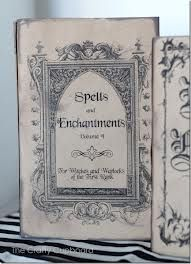 spell book cover - Google Search