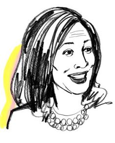 On Raisin Bran, her collection of Converse sneakers, and being a tough boss. New Politics, Kamala Harris, Getting Things Done, I Got This, Converse Sneakers, Raisin, Boss, Beauty, Caricature