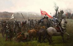 Battle of Zarnowiec in which Poland defeated the Teutonic Knights. 1462.
