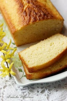 Food Cakes, Fodmap, Sweet Bread, Cornbread, Banana Bread, Cake Recipes, Food And Drink, Healthy Eating, Sweets