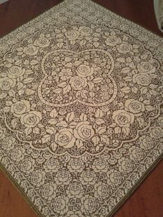 Crochet Doily Patterns, Crochet Doilies, Crochet Lace, Cross Stitch Rose, Cross Stitch Charts, Patterns In Nature, Christmas Cross, Filet Crochet, Blackwork