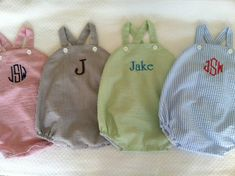 Personalized or Monogrammed Baby Boy's by dotsndimplesboutique Baby G, Baby Time, Future Baby, Boy Fashion, Little Boys, Boy Outfits, Children, Kids, Boy Or Girl