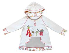 Happy Animals Girls Hoodie Toddler Outfits, Kids Outfits, Happy Animals, Hoodie Jacket, Fair Trade, Size 12, Pure Products, Hoodies, Cotton
