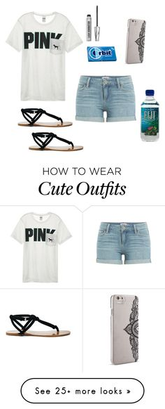 """Quick Outfit"" by ahriraine on Polyvore featuring Victoria's Secret, Paige Denim, Sole Society, Nanette Lepore and Bare Escentuals"