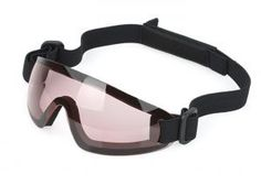 red airsoft goggle