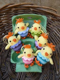 If you are looking for some Free Easter Crochet Patterns you are in the right place. We've included Easter Crochet Baskets and more. Check them out now. Cute Crochet, Crochet Crafts, Crochet Dolls, Yarn Crafts, Crochet Projects, Knit Crochet, Ravelry Crochet, Crochet Baby, Easter Crochet Patterns