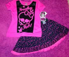 Monster High Girl's Clothing Outfit