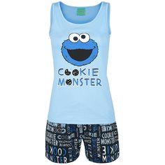 - pyjama set  - top: front print  - shorts: all over print and drawstring