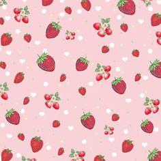 **FREE ViNTaGE DiGiTaL STaMPS**: Free Digital Scrapbook paper - Kitschy Strawberry ...